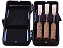 Oboe Reed Case Plastic Holds Three Reeds