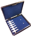 Oboe Reed Case Plastic Holds Six Reeds
