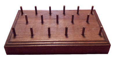 Oboe Reed Drying Rack Cherry Finish