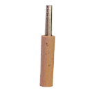Silver Oboe Reed Staple Synthetic Cork