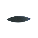 Plaque - Flat Steel Pointed Ends